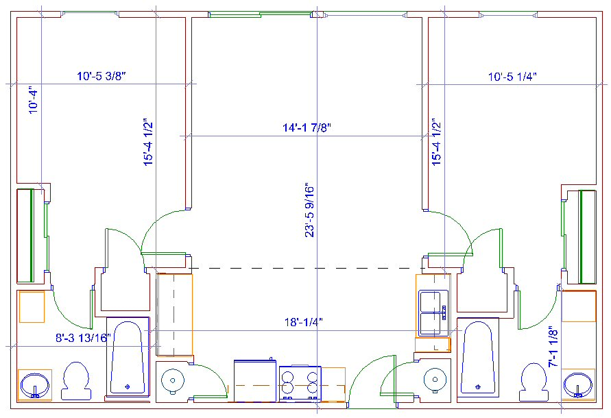 Handicap Shower Dimensions